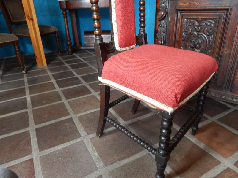 19th Century Rosewood Bobbin Chair
